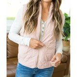 Blush Reversible Vest - Arrow Twenty Two
