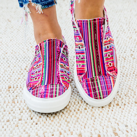 NEW! Gypsy Jazz Pedra Slip on Sneaker - Pink