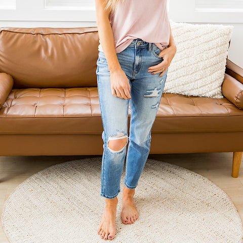 NEW! KanCan Britta Relaxed Fit Jeans