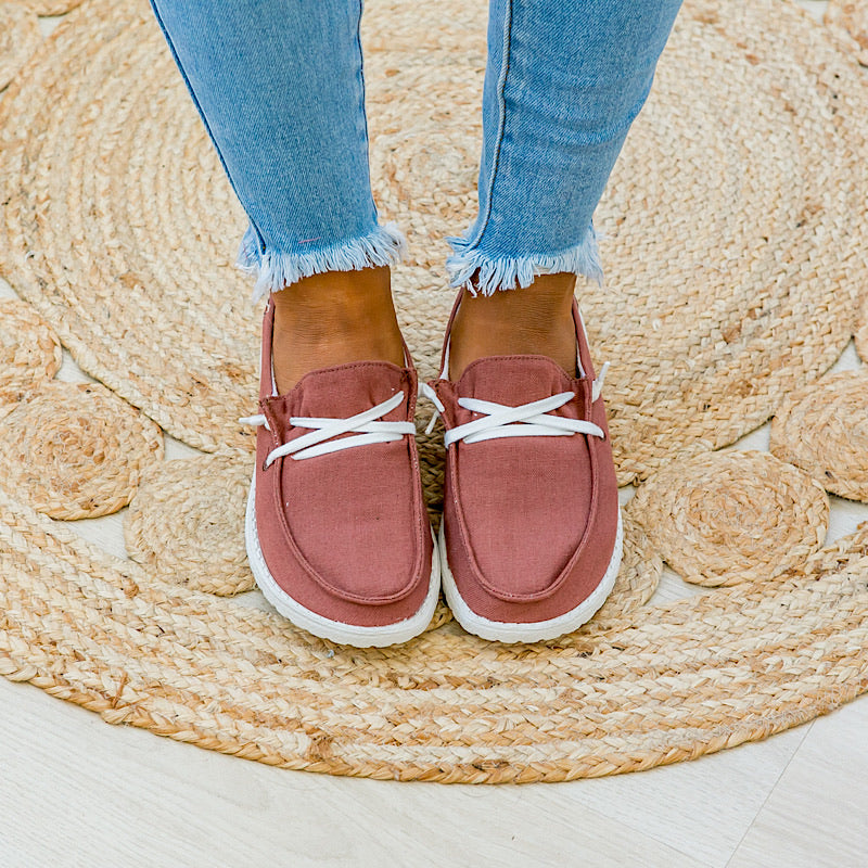 NEW! Poppy Rust Slip on Sneaker - Arrow Twenty Two