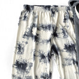 NEW! Ivory and Charcoal Tie Dye Lounge Pants - Arrow Twenty Two