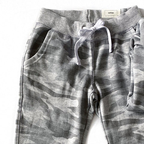 NEW! Gray Camo Lounge Joggers - Arrow Twenty Two