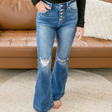 KanCan Sydney Flare Jeans - Petite - Arrow Twenty Two