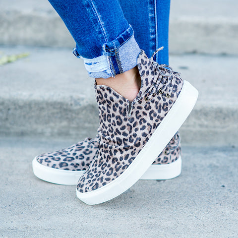 Harvest Leopard Sneaker - Arrow Twenty Two