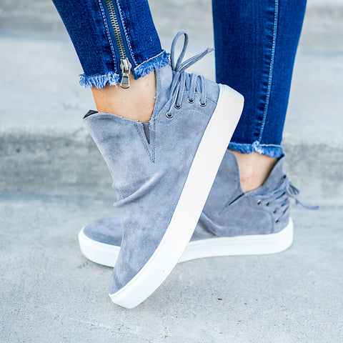 NEW! Harvest Gray Sneaker