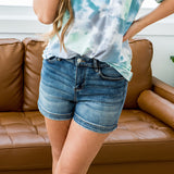 NEW! Judy Blue Kenzie Non Distressed Shorts - Arrow Twenty Two