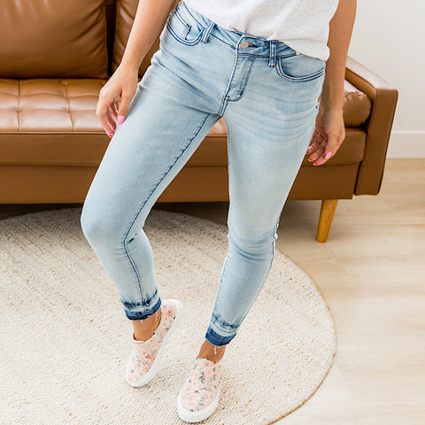 NEW! Judy Blue Madison Release Hem Jeans