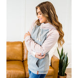 NEW! Ampersand Ave Spring Breeze Doublehood Sweatshirt - Arrow Twenty Two