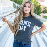 """Game Day"" Charcoal Tee - Arrow Twenty Two"