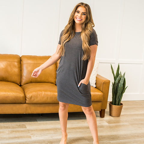 NEW! Favorite T-Shirt Dress - 8 Options - Arrow Twenty Two