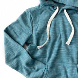 Marled Teal Favorite Hoodie - Arrow Twenty Two