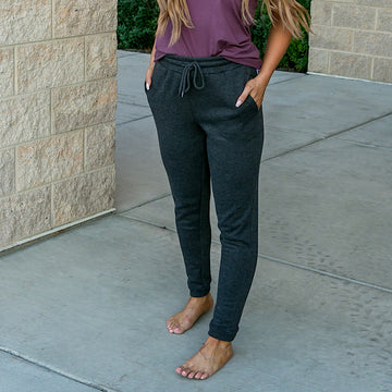 NEW! Charcoal Lounge Joggers