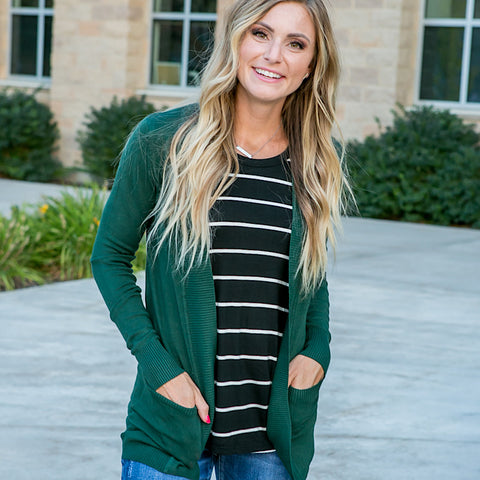 NEW! Favorite Cardigan - Olive