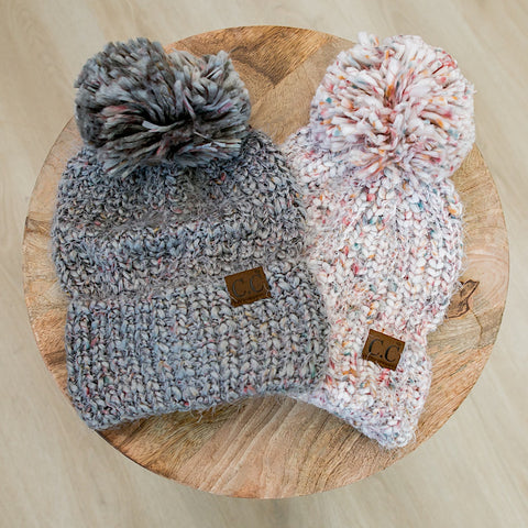 Confetti CC Beanie - 2 Colors - Arrow Twenty Two