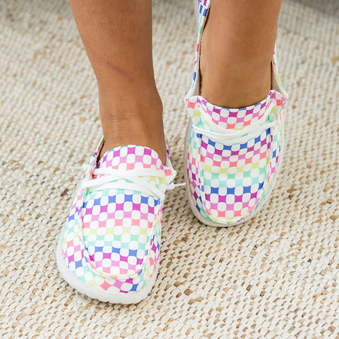 NEW! Gypsy Jazz Raceway Slip on Sneaker - Multi