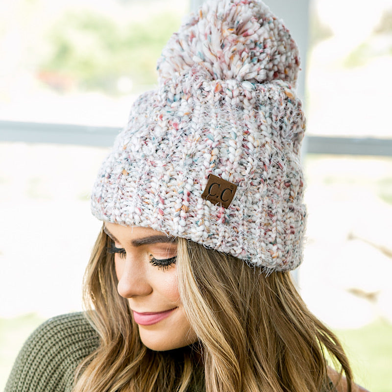 NEW! Confetti CC Beanie - 2 Colors - Arrow Twenty Two