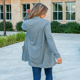 Charcoal Soft Cardigan - Arrow Twenty Two