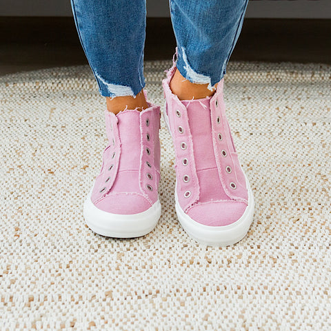 NEW! Gypsy Jazz Grayson High Top Sneaker - Pink