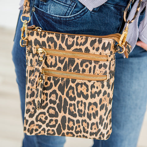 Cross Body Leopard Bag - Arrow Twenty Two