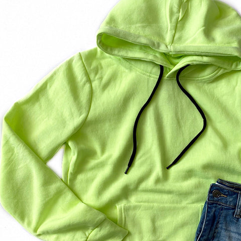 Neon Yellow Favorite Hoodie - Arrow Twenty Two