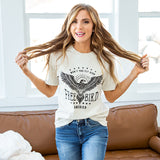 Cream Free Bird Tee - Arrow Twenty Two