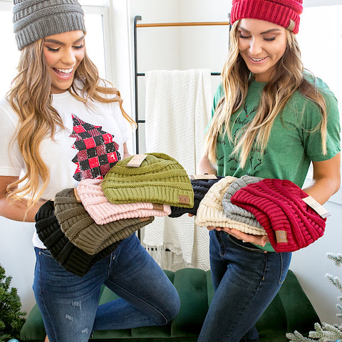 DOORBUSTER! CC Beanie - 10 Options - Arrow Twenty Two