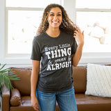 """Every Little Thing"" Charcoal Tee - Arrow Twenty Two"