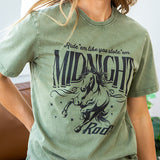NEW! Olive Midnight Rodeo Tee - Arrow Twenty Two