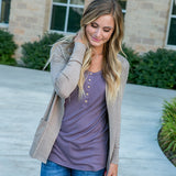 NEW! Favorite Cardigan - Camel - Arrow Twenty Two