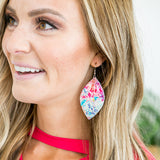 Tie Dye Earrings - Arrow Twenty Two