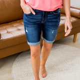 NEW! KanCan Karely Bermuda Shorts - Dark - Arrow Twenty Two