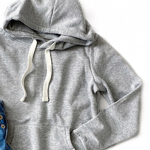 Heather Gray Favorite Hoodie - Arrow Twenty Two