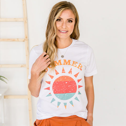 NEW! Summer Sun Tee - Arrow Twenty Two