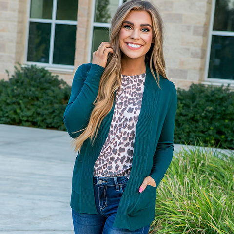 Favorite Cardigan - Teal