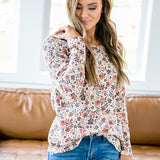 NEW! Valerie Fall Floral Long Sleeve Top - Arrow Twenty Two