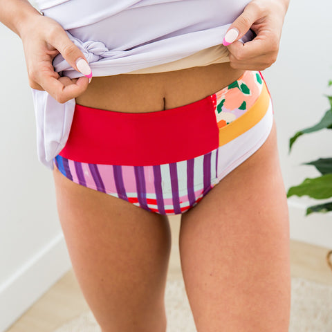 Nani Santiago Patch Swim Bottoms