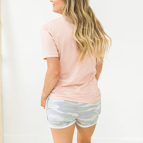 Faded Camo Comfy Shorts - Arrow Twenty Two