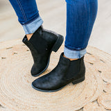 Blake Bootie - Black - Arrow Twenty Two