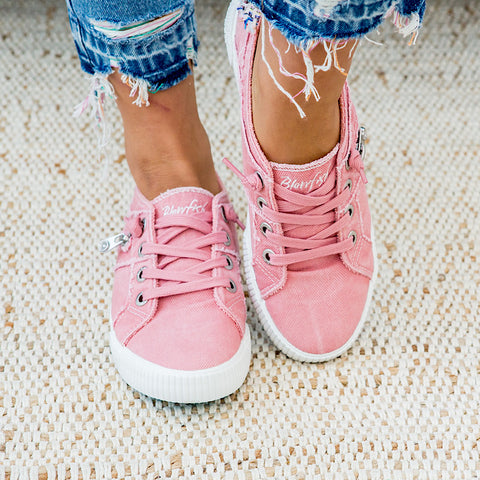NEW! Blowfish Fruit Sneaker - Dusty Pink