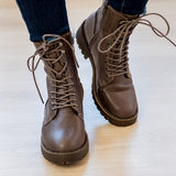 Very G Conquest Brown Boot - Arrow Twenty Two