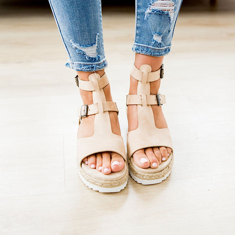 NEW! Very G Cassius Sandal - Nude
