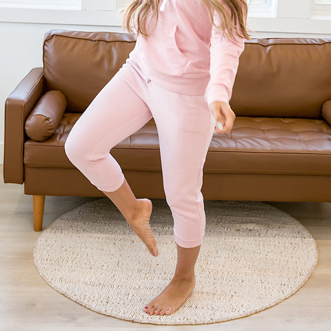 NEW! Pink Capri Joggers - Arrow Twenty Two