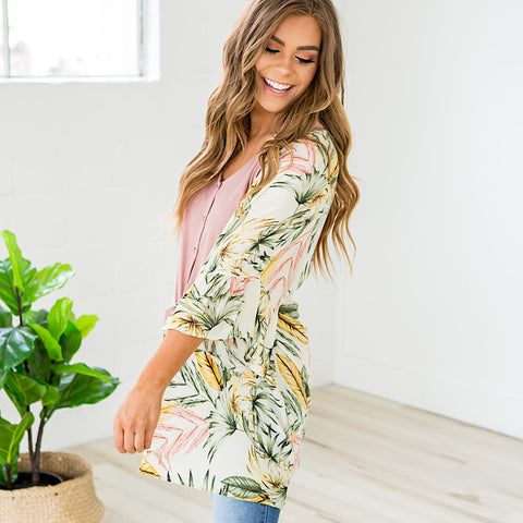 Tropical Floral Kimono - Arrow Twenty Two
