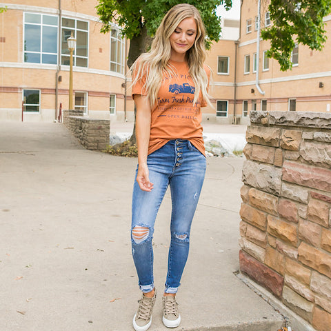 NEW! Hand Picked Pumpkins Tee - Arrow Twenty Two
