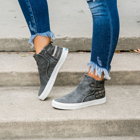 NEW! Blowfish Kayla Gray Sneaker - Arrow Twenty Two