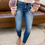 NEW! Este KanCan Frayed Ankle Jeans - Arrow Twenty Two