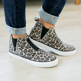 Gypsy Jazz Frankie Sneaker - Leopard - Arrow Twenty Two