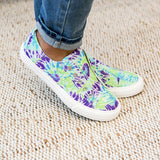 NEW! Gypsy Jazz Play Along Slip on Sneaker - Blue Tie Dye - Arrow Twenty Two