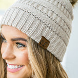 NEW! CC Pom Beanie - Arrow Twenty Two