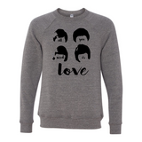 All You Need is Love Adult Unisex Crewneck